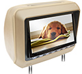 "8"" BEIGE HEADREST DVD"