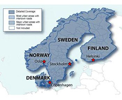 GARMIN SD NORDICS MAPPING