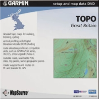 GARMIN TOPO GREAT BRITAIN DVD