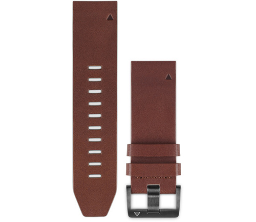 GARMIN QUICKFIT BROWN LTH BAND