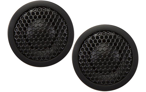 "KICKER 0.75"" TWEETERS - RED"