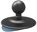 "1"" BALL ROUND FLEXI STICK BASE"
